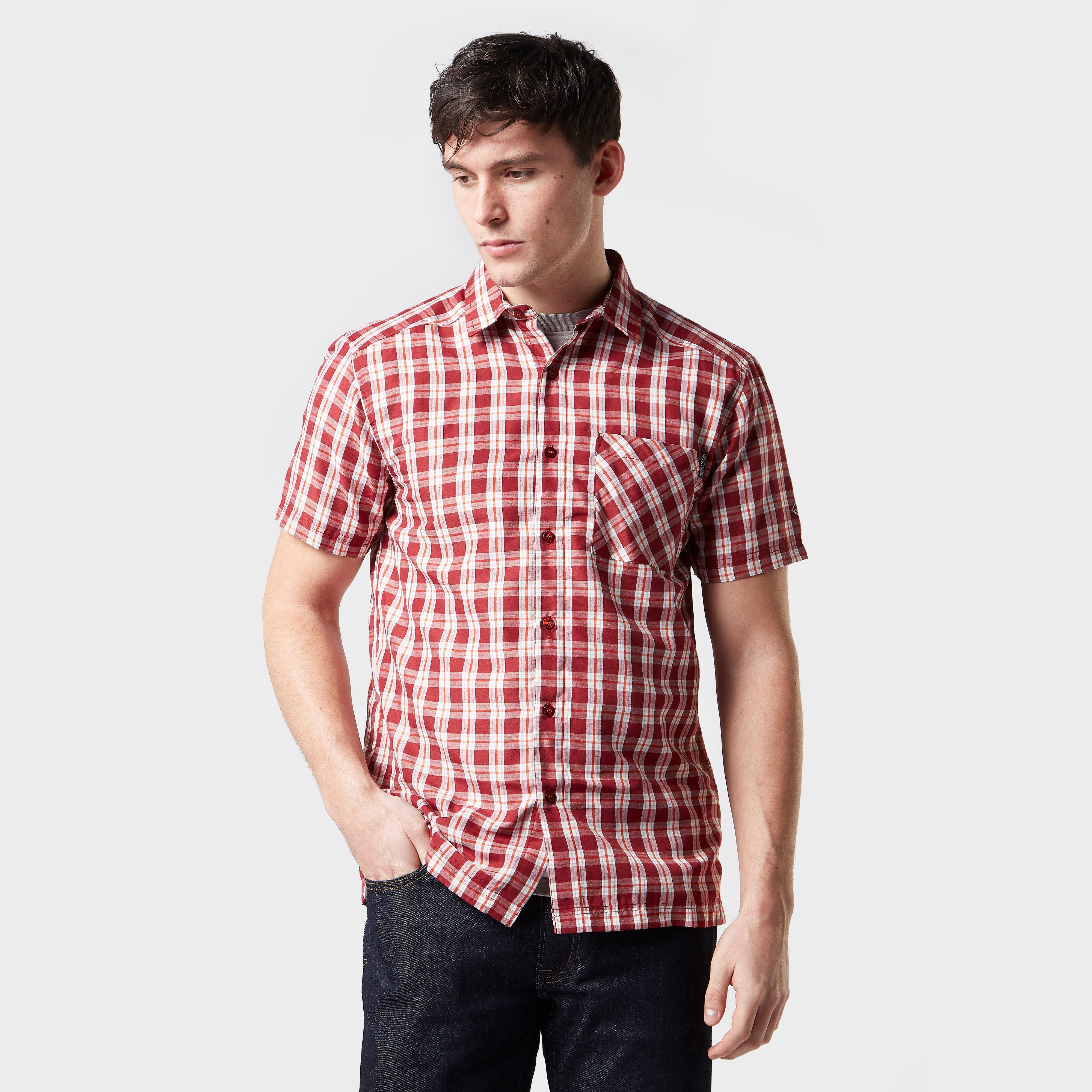 Regatta Regatta Mens Mindano V Long Sleeve Shirt - Red, Red