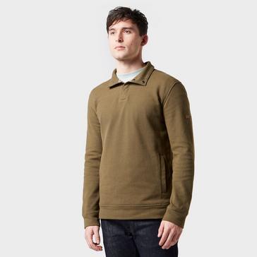 Brown Regatta Men's Theon Button Up Fleece