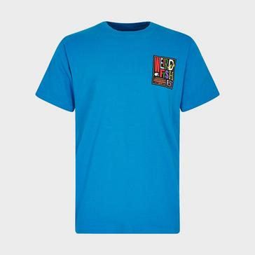 Blue Weird Fish Men's Fish Fest Artist T-Shirt