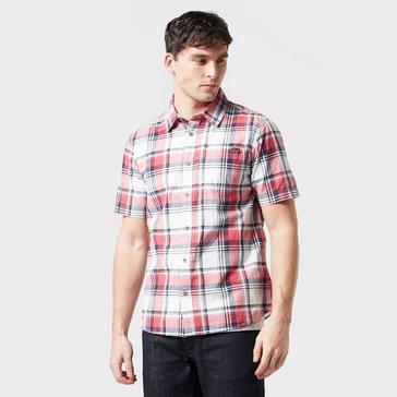 Weird Fish Men's Modbury Short Sleeve Chequered Shirt
