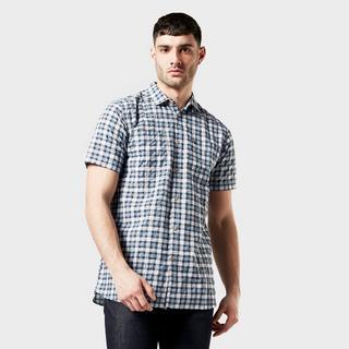 Men's Pele Short Sleeved Check Shirt