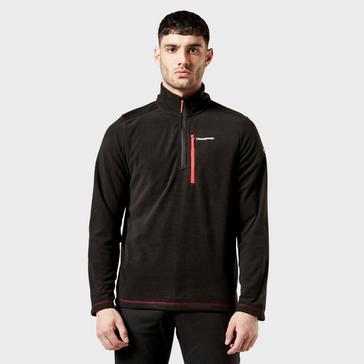 Black Craghoppers Evans Half Zip Fleece
