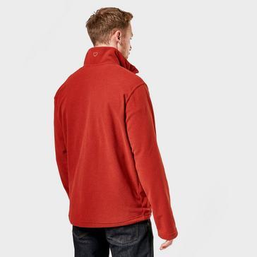 Red Brasher Men's Fountains Half Zip Fleece