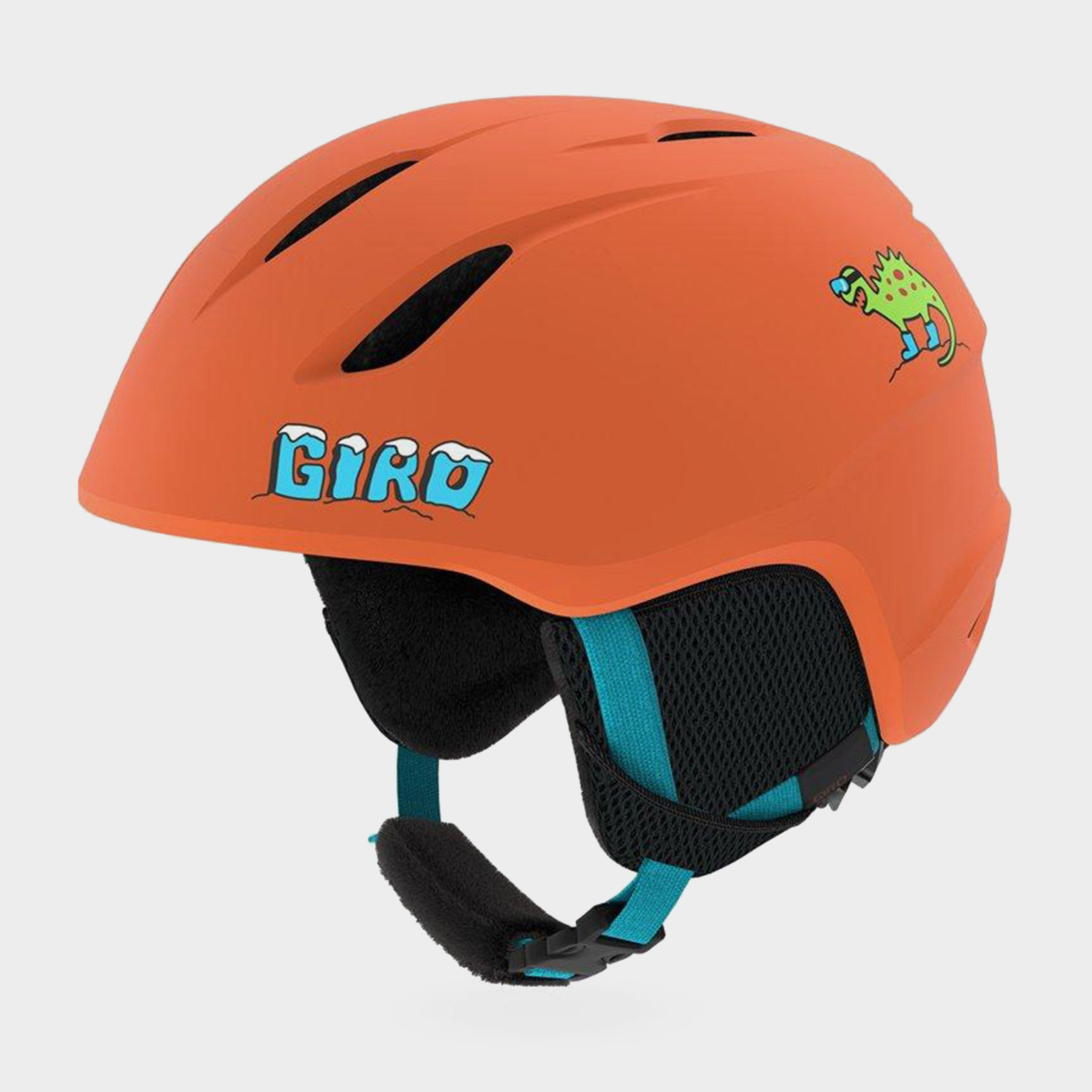 Giro Kids' Launch Snow Helmet - Orange/Org, Orange