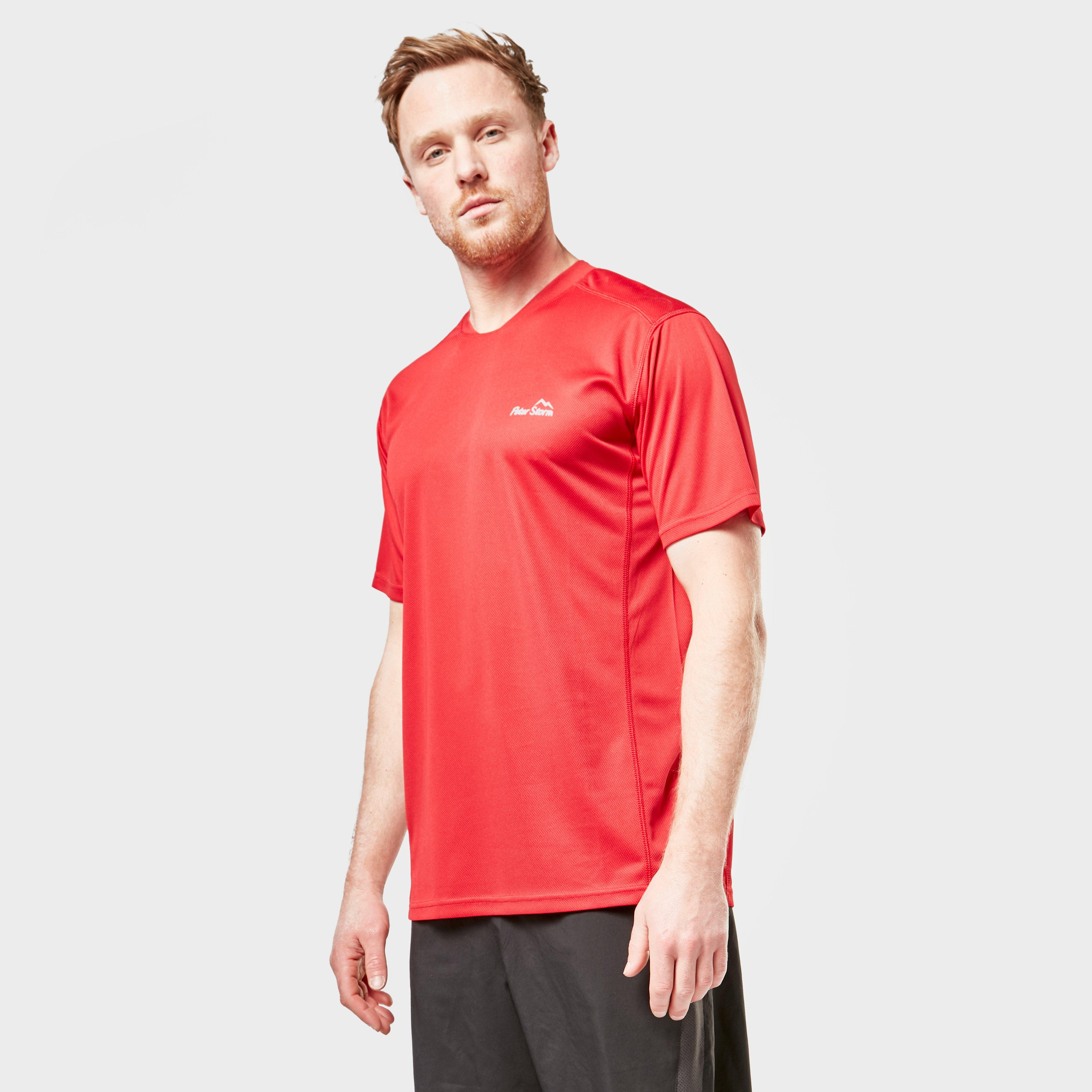 Image of Peter Storm Ps M Balance Ss T - Red/Red, RED/RED