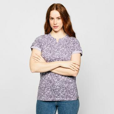 Purple Brasher Women's AOP Print T-Shirt