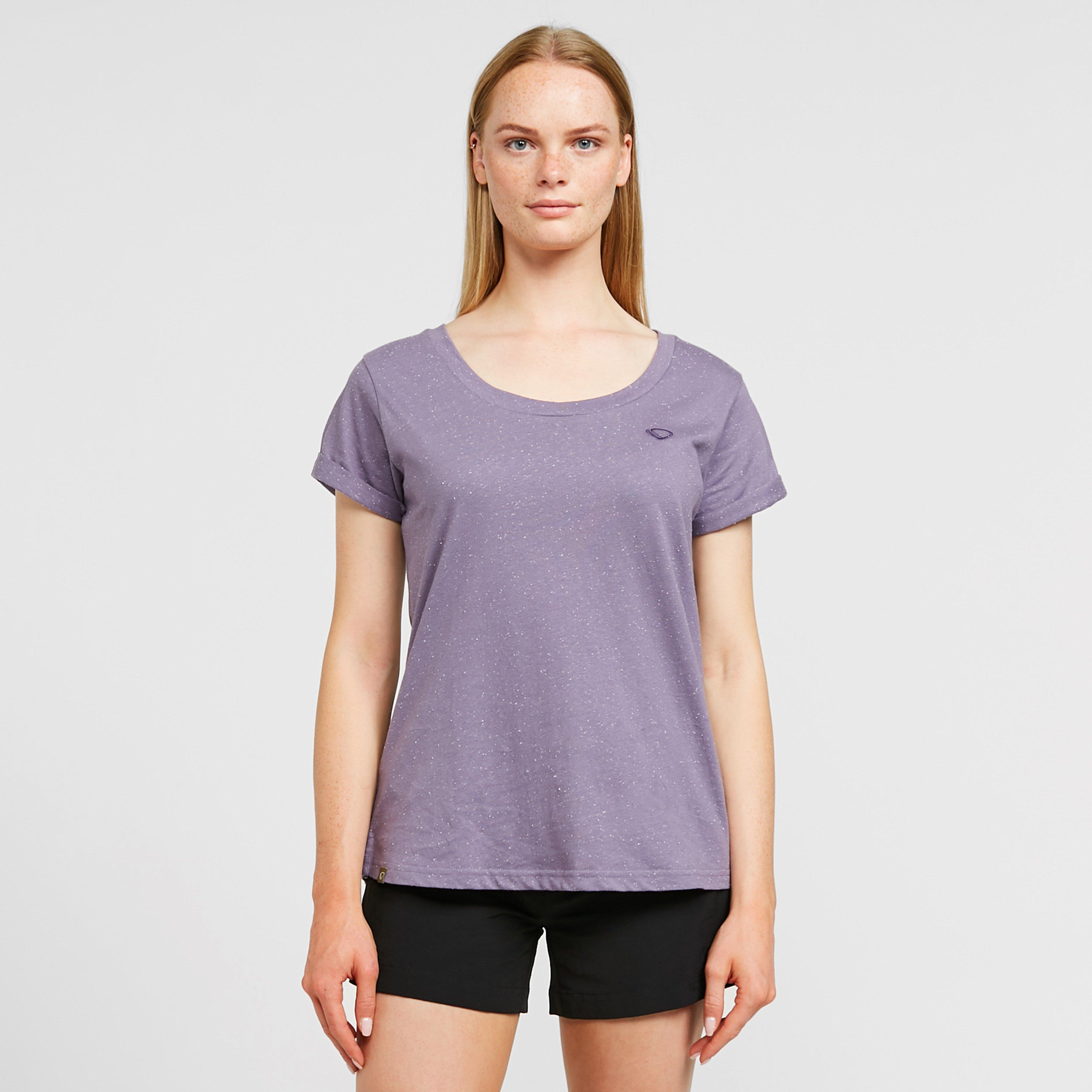 Brasher Brasher Womens Neppy T-Shirt, Purple
