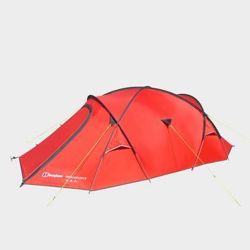 Red Berghaus Grampian 2 Tent