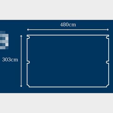 Multi Berghaus Telstar 8 Tent Carpet