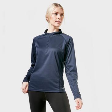 Peter Storm Women's Long Sleeved Zipped Balance Baselayer
