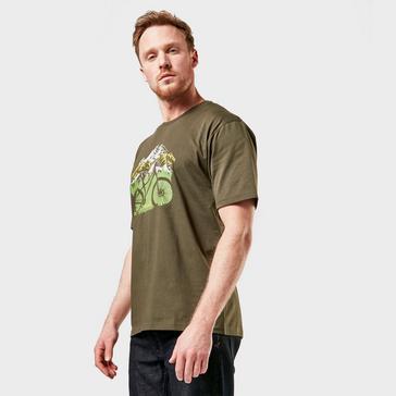 Green Peter Storm Men's Mountain Bike T-Shirt