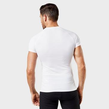 White Odlo Men's Active Light Short Sleeve T-Shirt