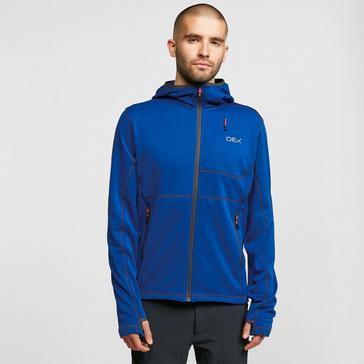 OEX Men's Basalt Alpine Full Zip Hooded Sweatshirt