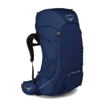 Blue Osprey Rook 65 Litre Backpack