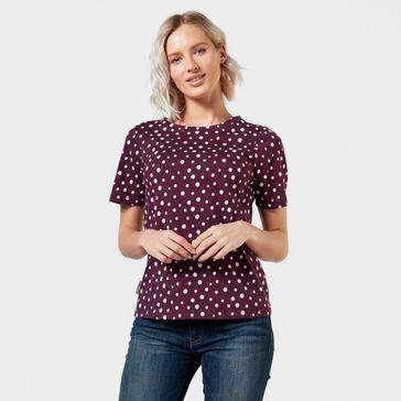 Purple Peter Storm Women's Angel Pattern T-Shirt