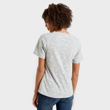 Grey|Grey Peter Storm Women's Angel Pattern T-Shirt