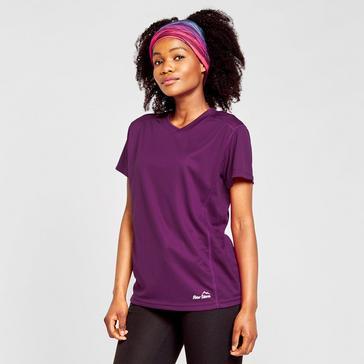 Purple Peter Storm Women's Short Sleeve Tech Tee