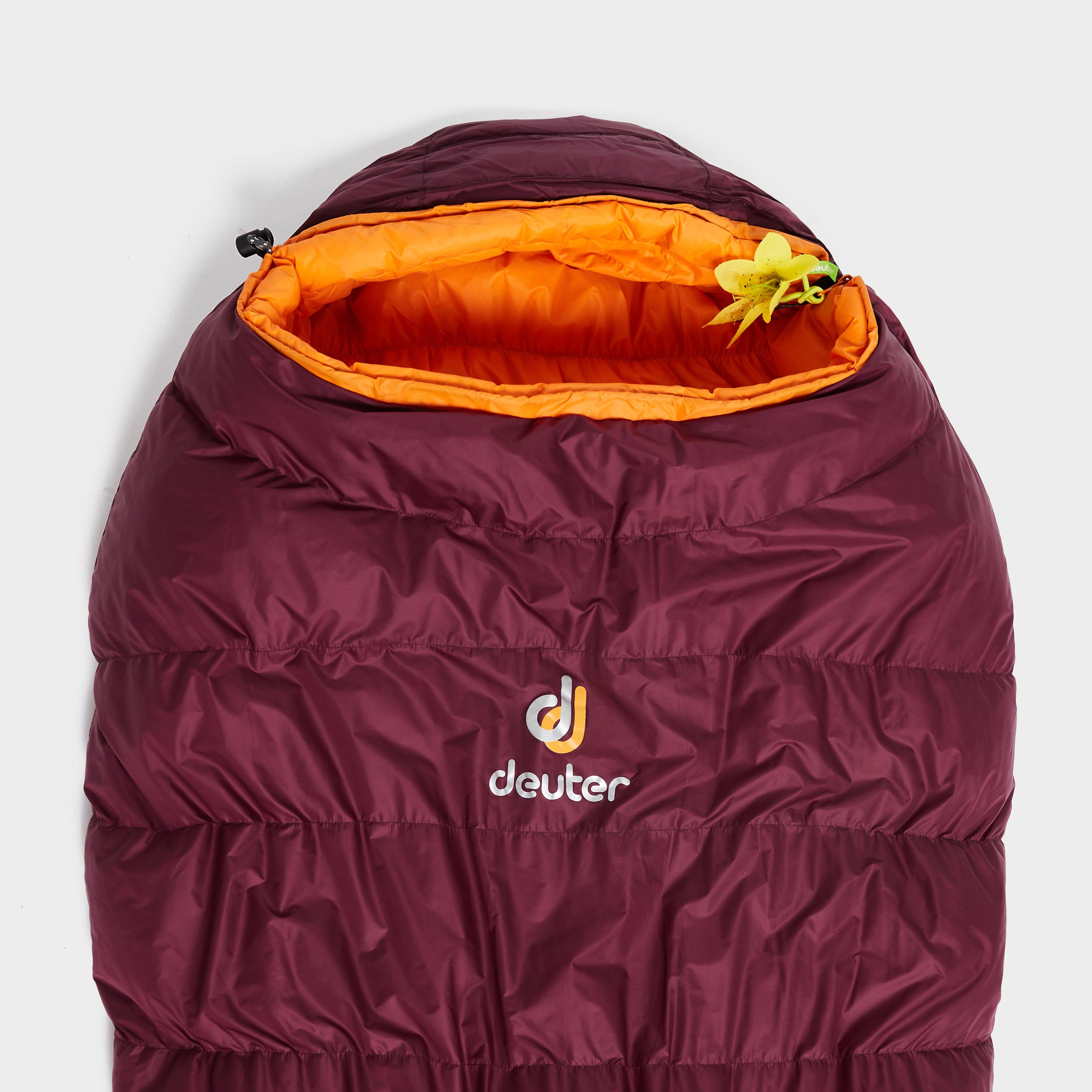Deuter Astro Pro 600Sl Sleeping Bag - Red/Bby, Red