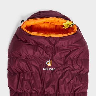 Purple Deuter Astro Pro 600SL Sleeping Bag