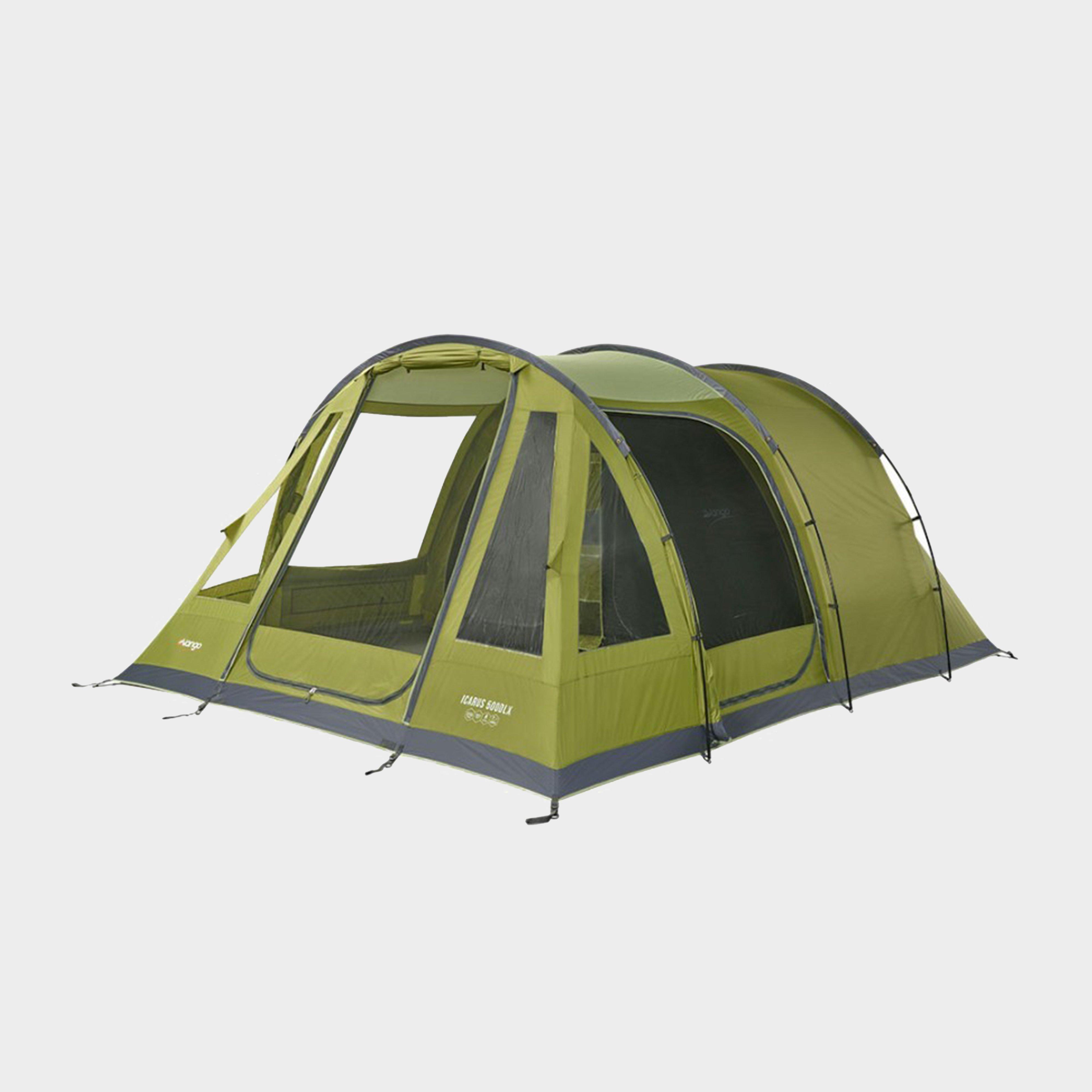 Vango Vango Icarus 500 Deluxe Family Tent - Green, Green