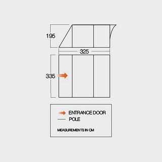 Icarus 500 DLX Tent Awning