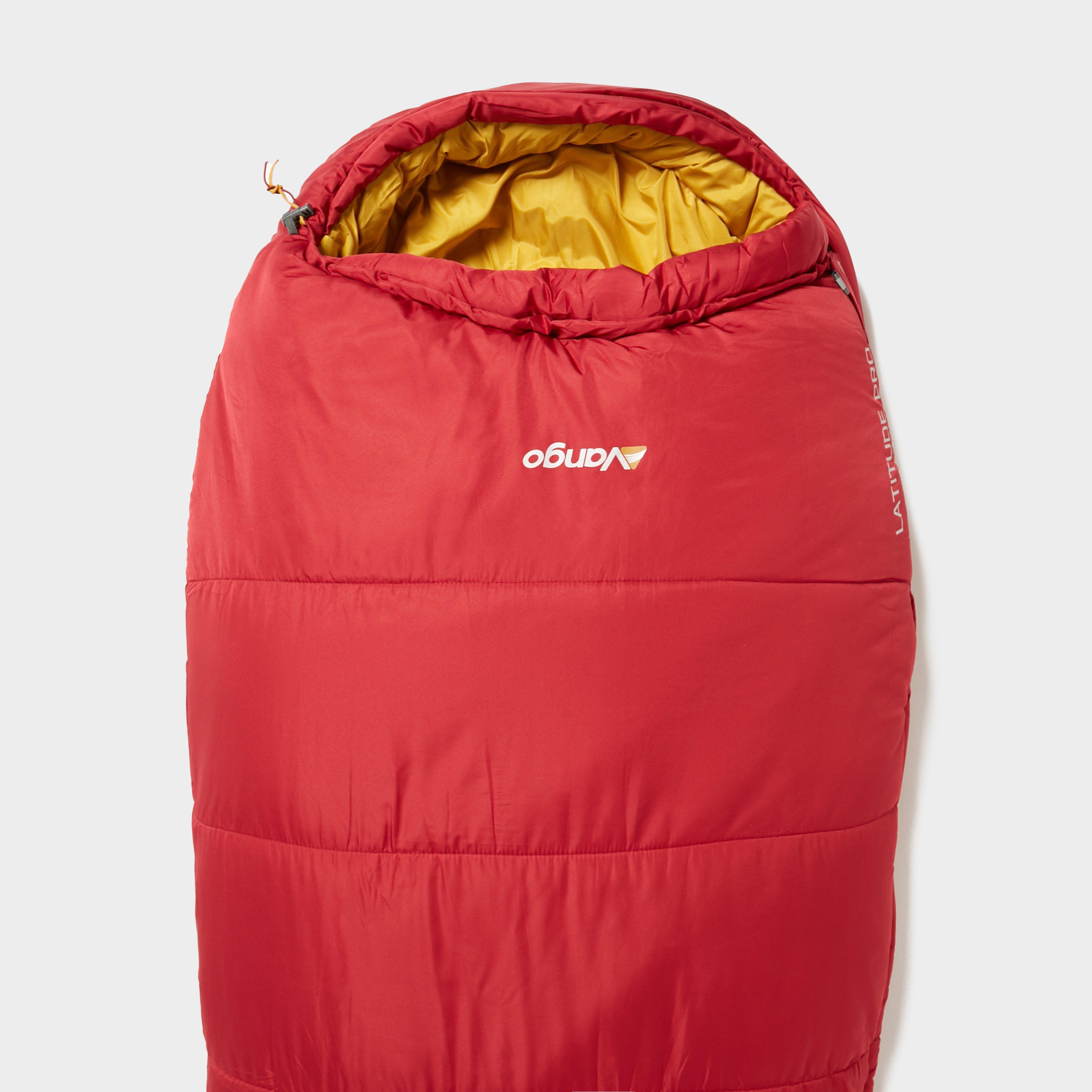 Vango Vango Latitude Pro 400 Sleeping Bag, Red