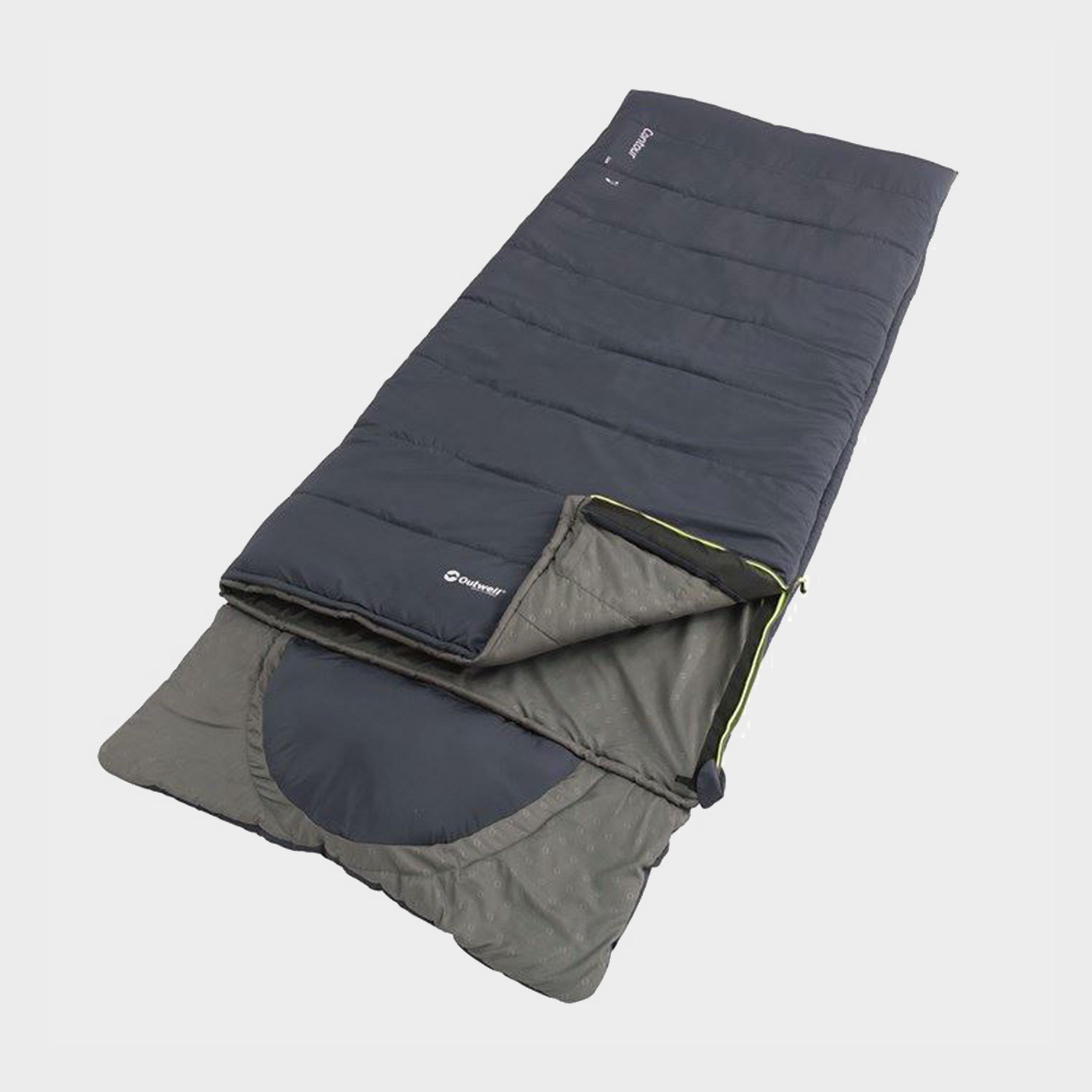 Outwell Outwell Contour Lux Sleeping Bag - Grey, Grey