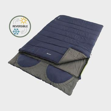 Blue Outwell Contour Lux Double Sleeping Bag