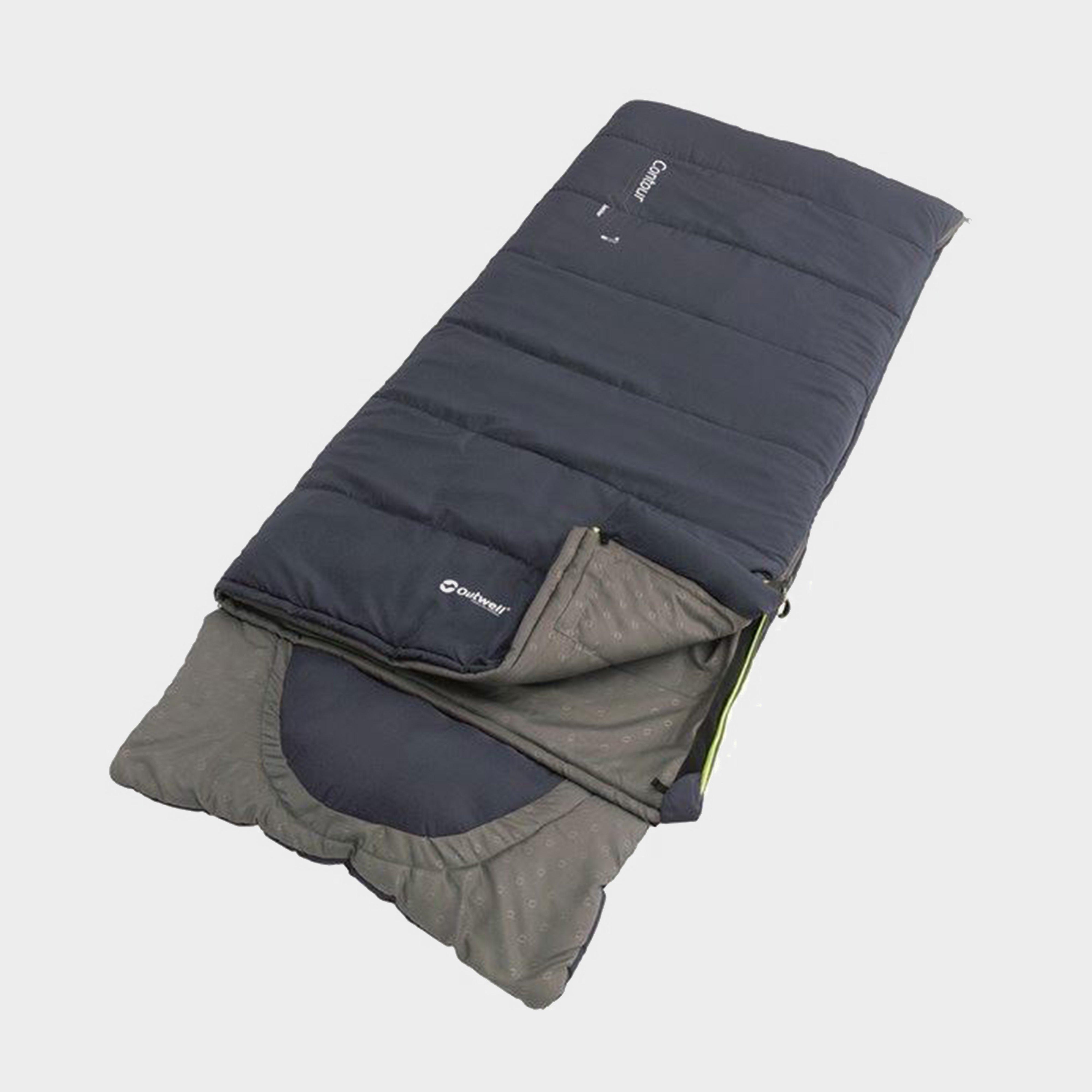 Outwell Outwell Contour Junior Sleeping Bag - Blue, Blue