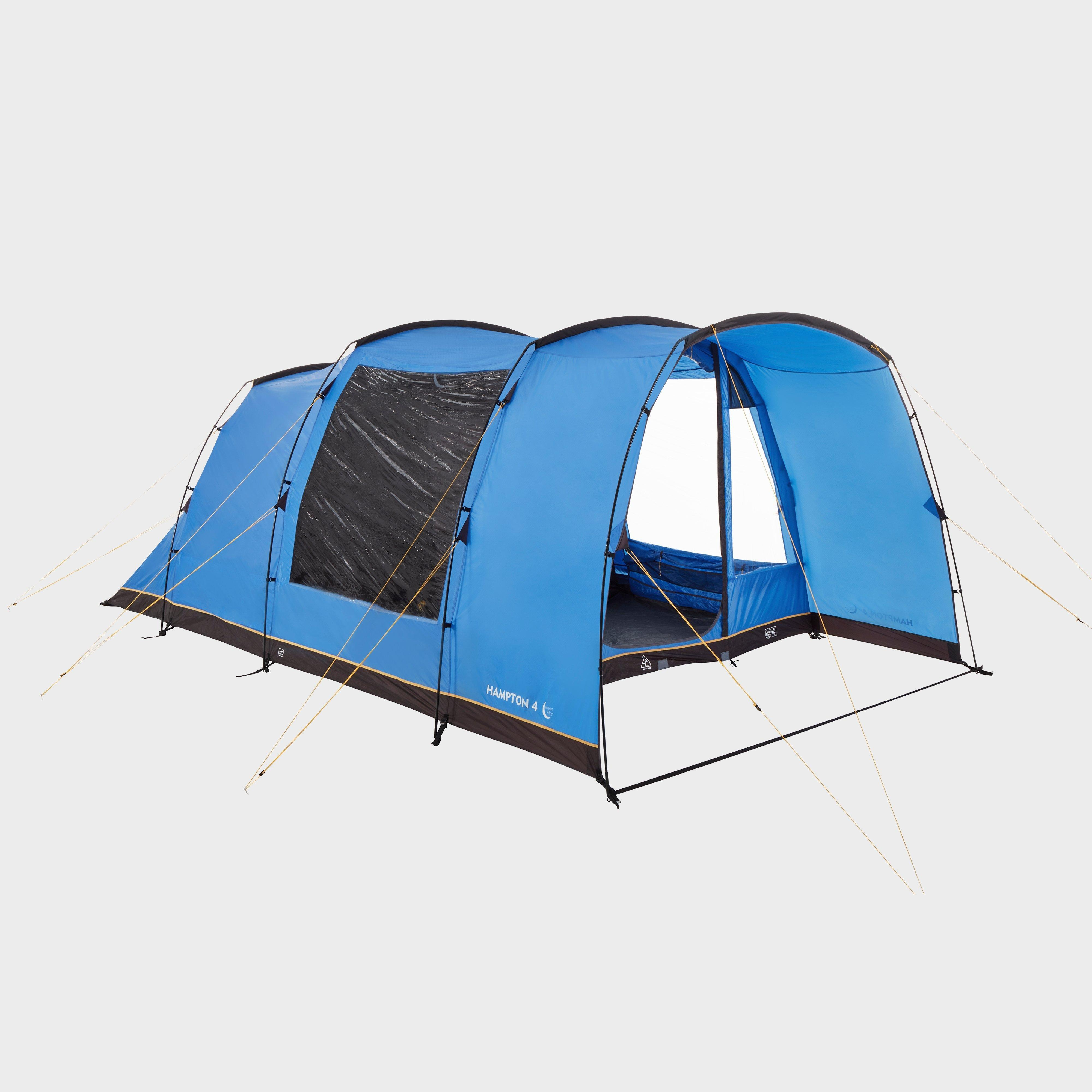 Hi-Gear Hi-Gear Hampton 4 Nightfall Family Tent, Blue