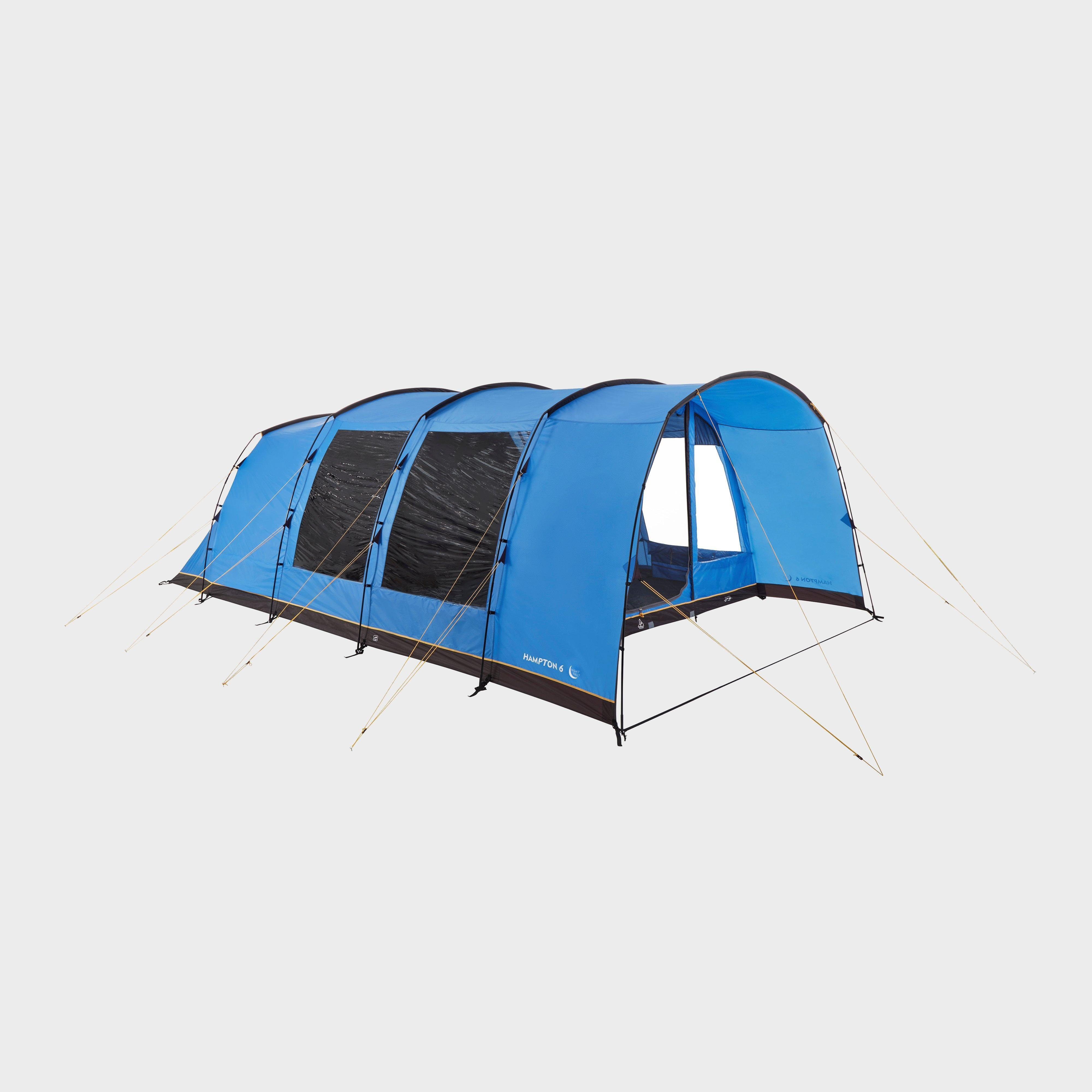 Hi-Gear Hi-Gear Hampton 6 Nightfall Family Tent, Blue