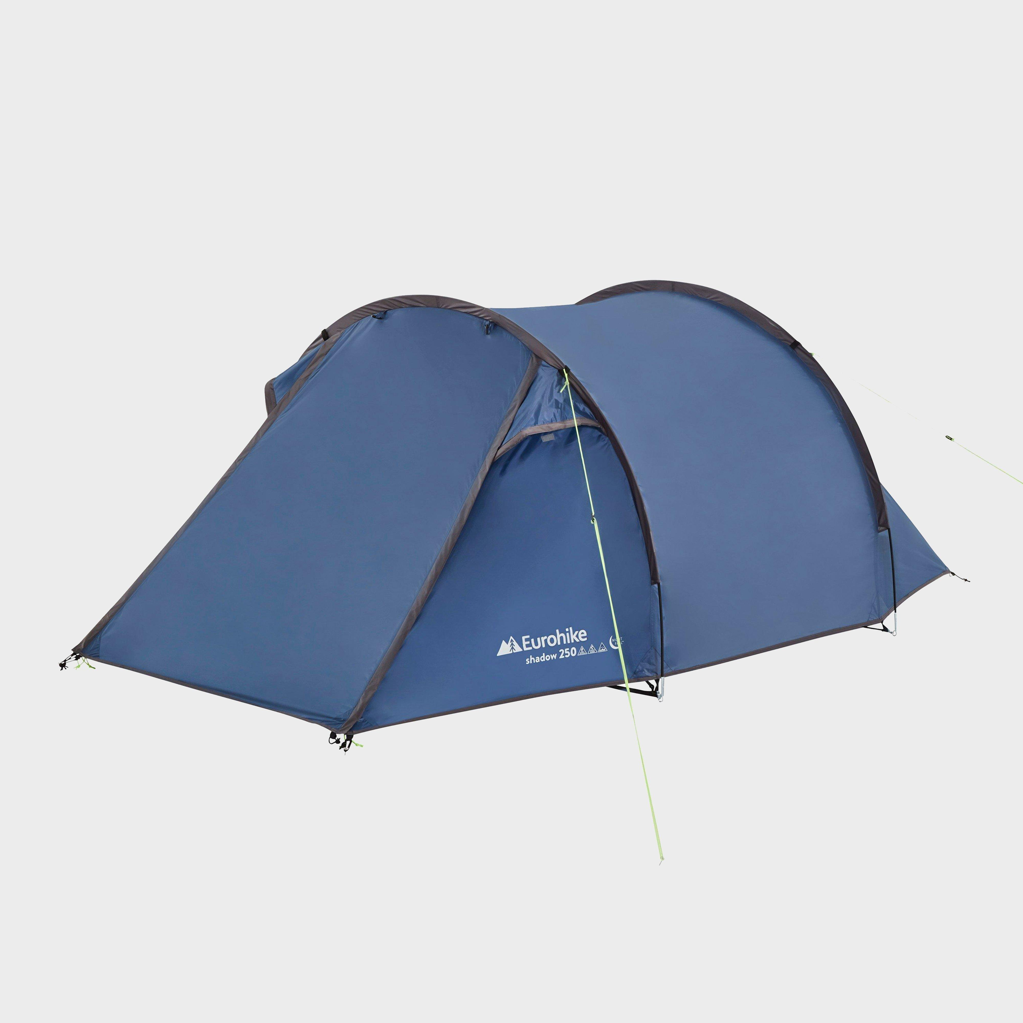 Eurohike Eurohike Shadow 250 Nightfall Tunnel Tent - Blue, Blue