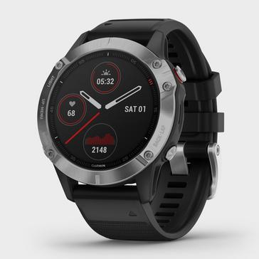 Black Garmin Fenix® 6 Multi-Sport GPS Watch