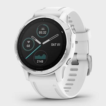 White Garmin Fenix® 6S Multi-Sport GPS Watch