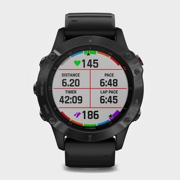 BLACK Garmin Fenix® 6 Pro Multi-Sport GPS Watch