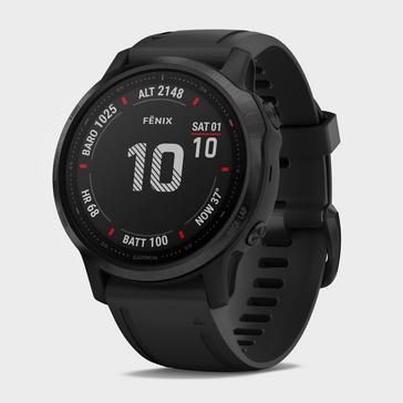 BLACK Garmin Fēnix® 6S Pro Multi-Sport GPS Watch