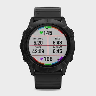 BLACK Garmin Fenix® 6X Pro Multi-Sport GPS Watch
