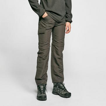 Grey Regatta Kids' Sorcer Zip-off Trousers