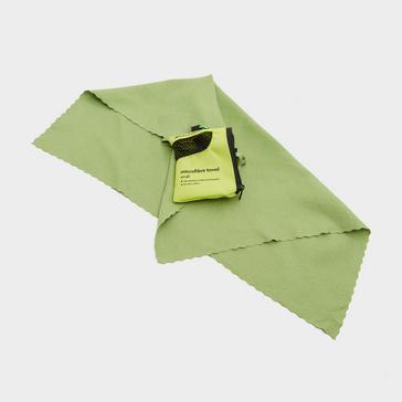 Green Eurohike Microfibre Mini Clip Towel (40x40cm)
