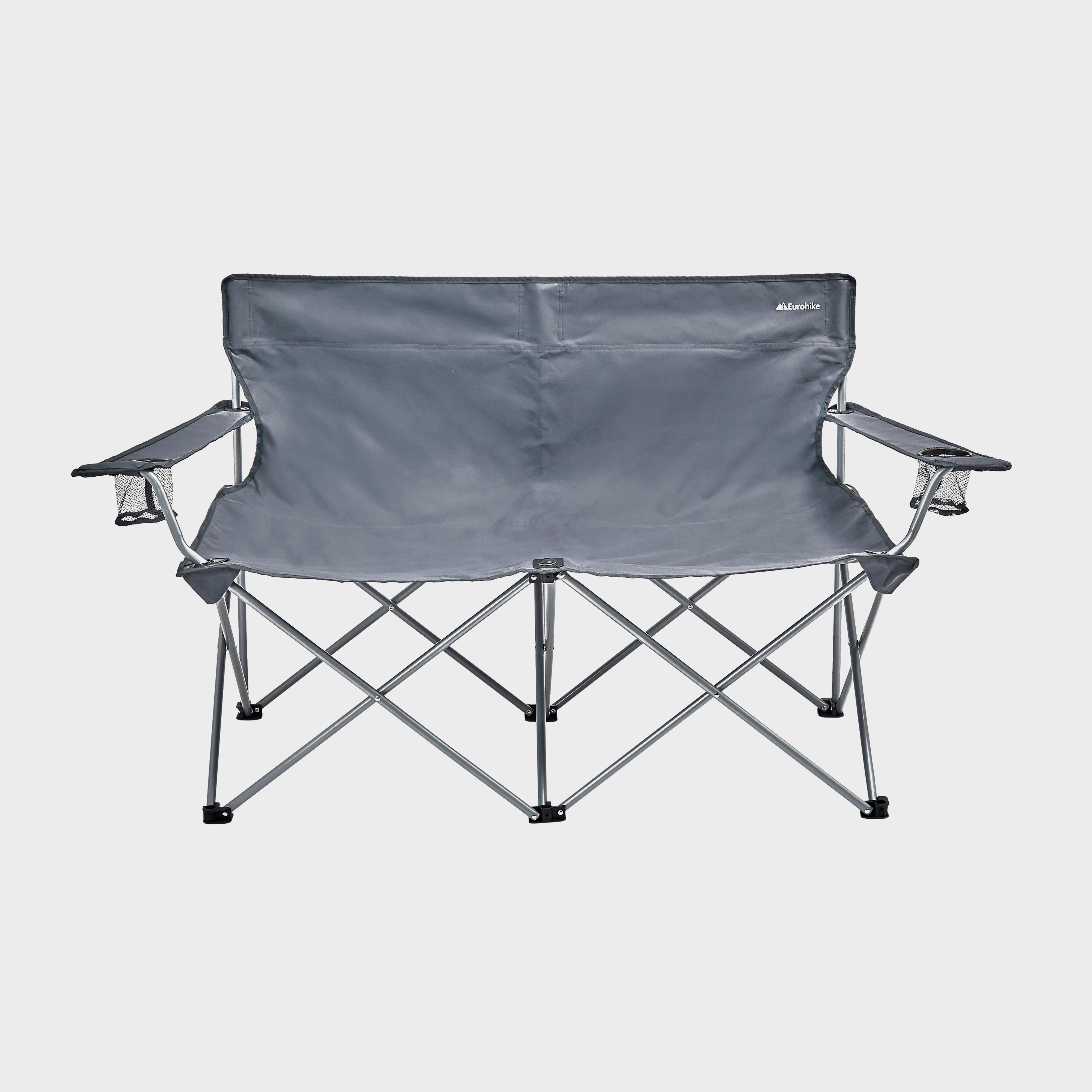 Eurohike Eurohike Peak Double Chair - Grey, Grey