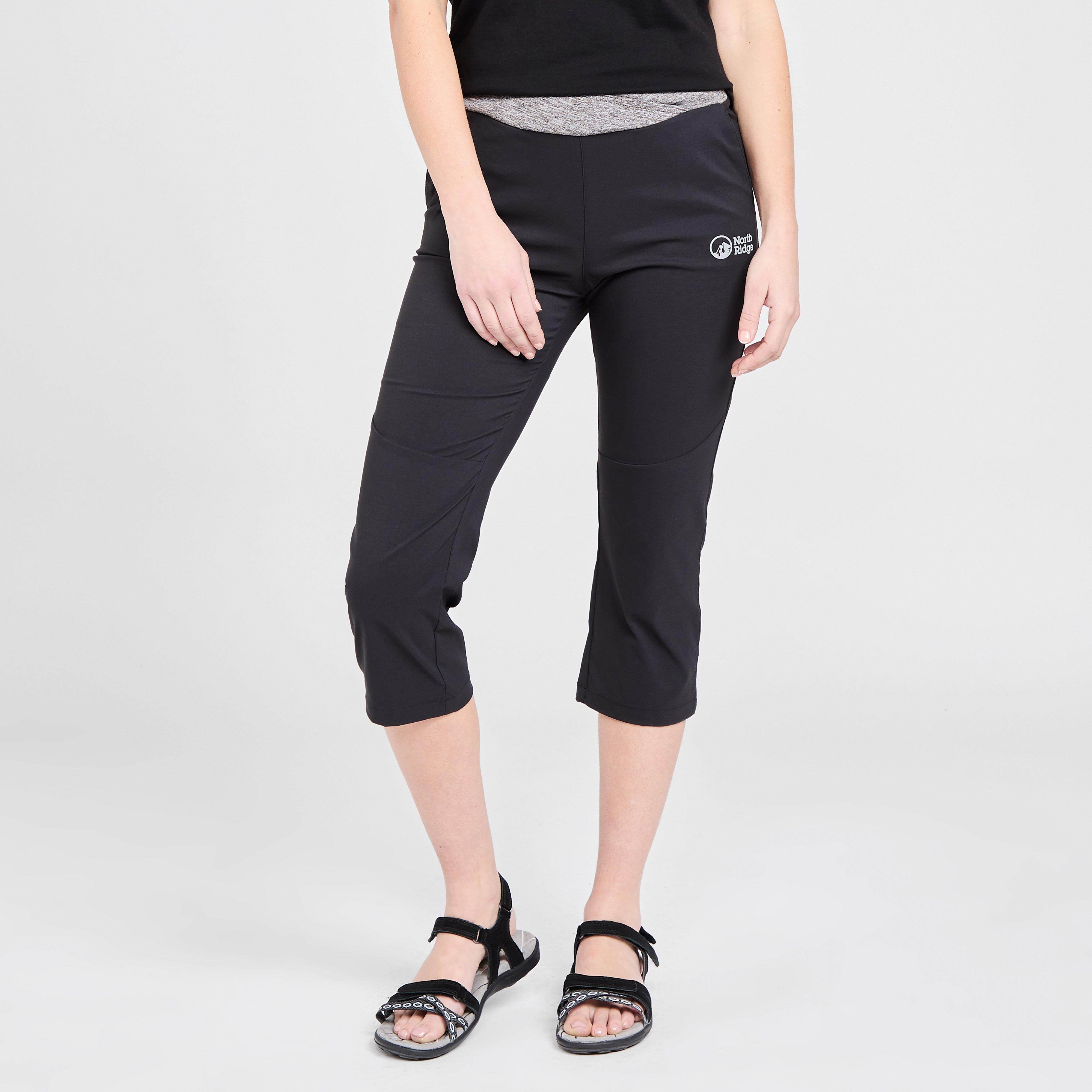 North Ridge North Ridge womens Vitality Cropped Trousers, Black