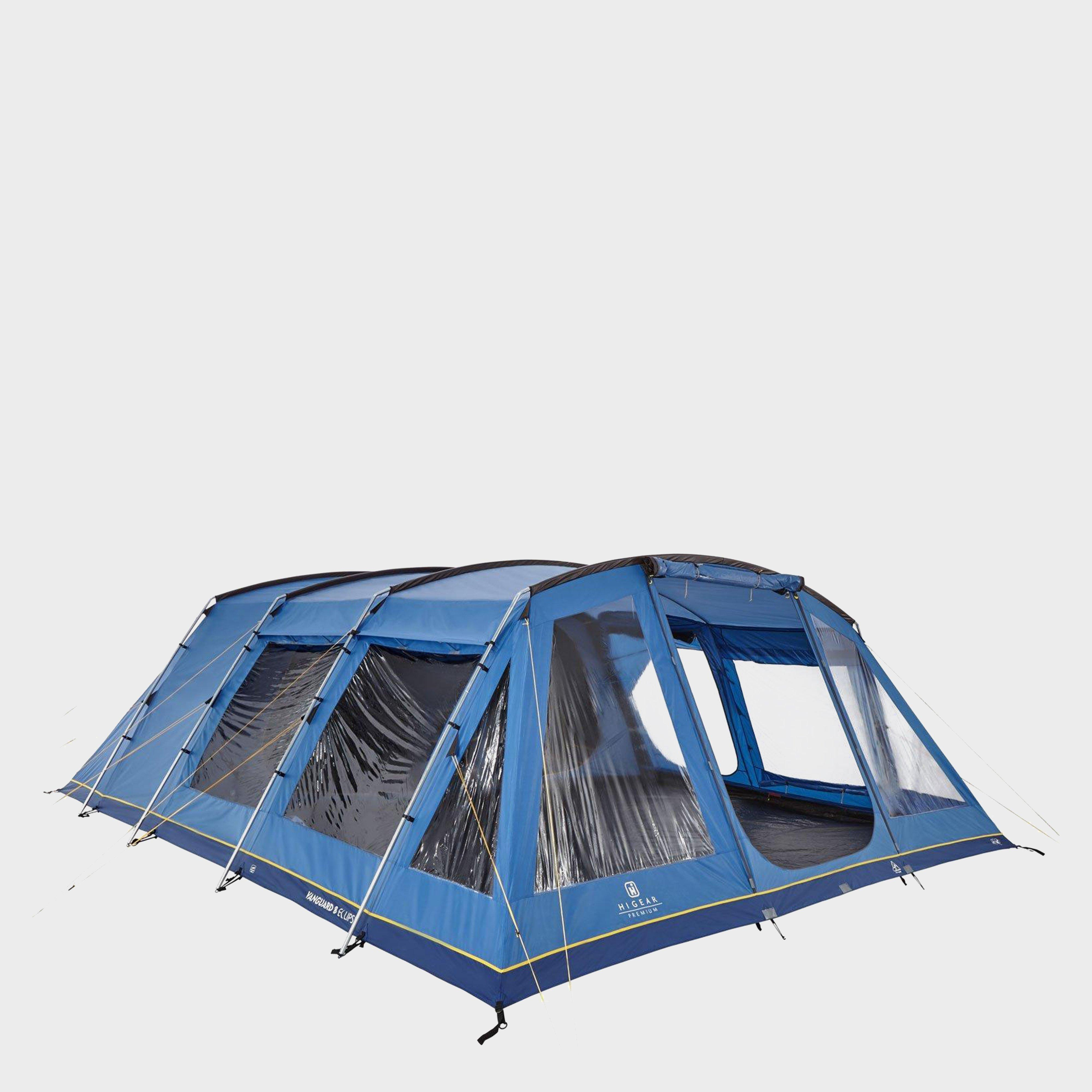 Hi-Gear Hi-Gear Vanguard 8 Nightfall Tent, Blue