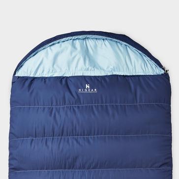 blue HI-GEAR Divine Double Sleeping Bag