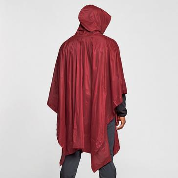 RED FREEDOMTRAIL Waterproof Poncho