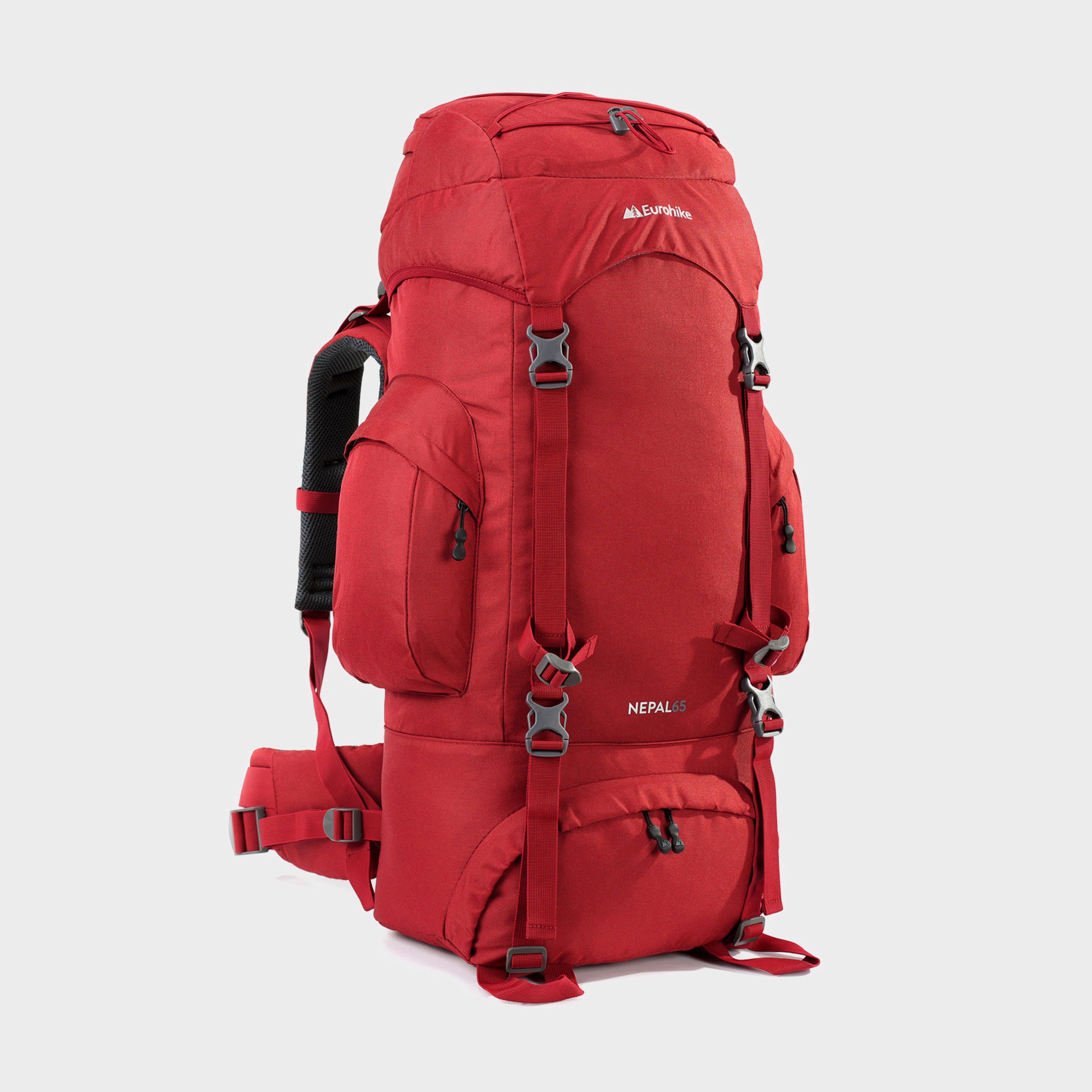 Eurohike Eurohike Nepal 65 Rucksack, Red
