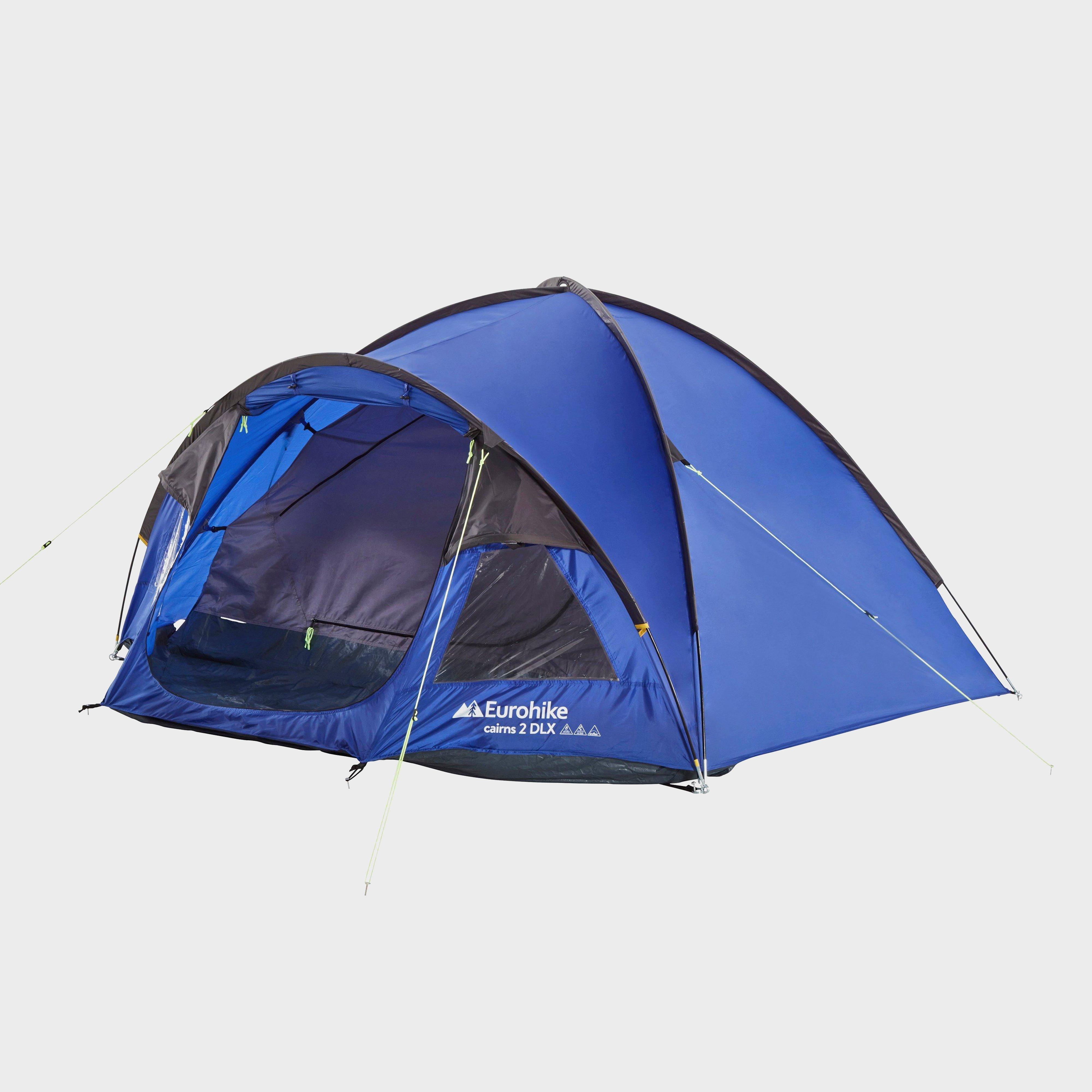 Eurohike Eurohike Cairns 2 DLX Nightfall Tent, Blue