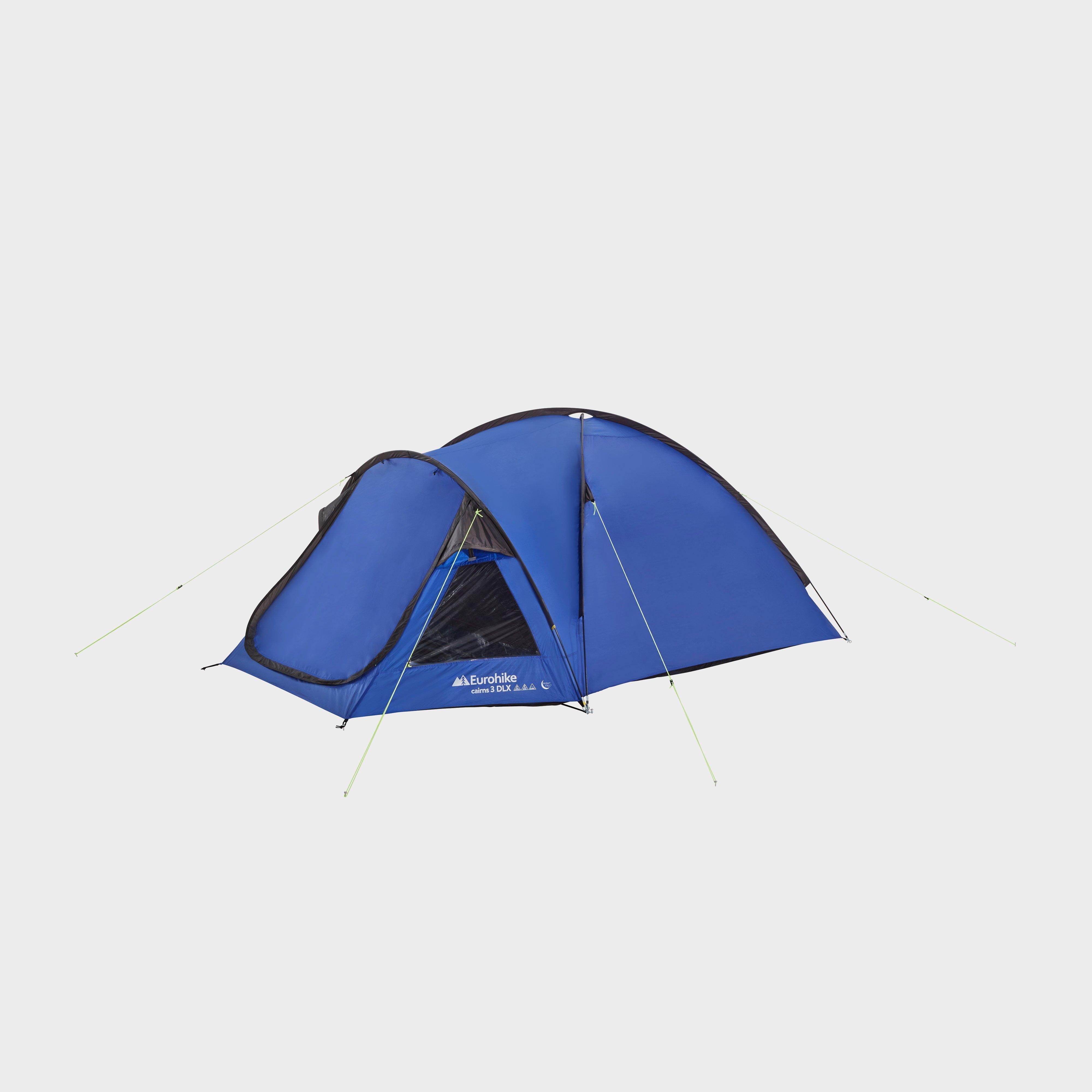 Eurohike Eurohike Cairns 3 DLX Nightfall Tent, Blue