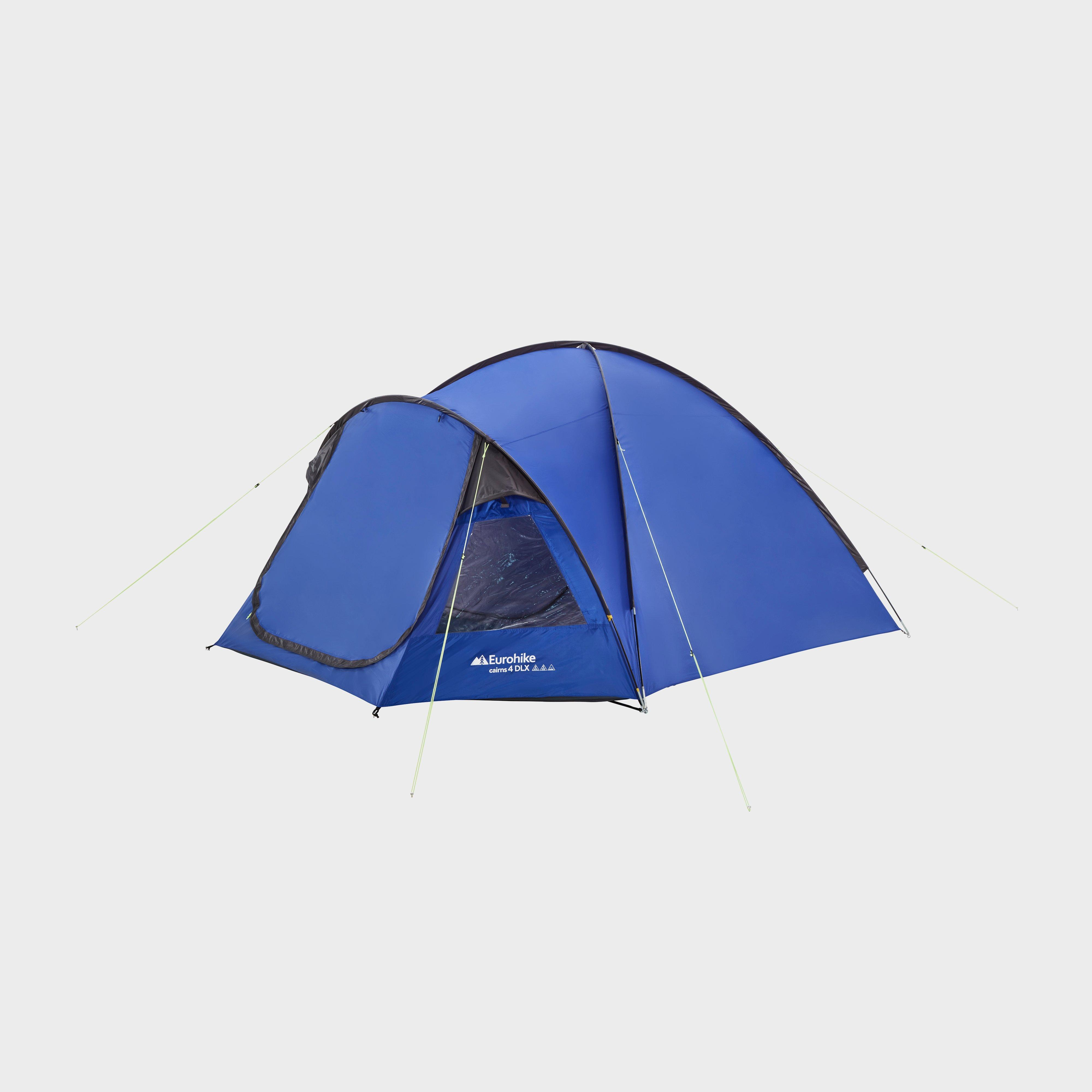 Eurohike Eurohike Cairns 4 Deluxe Tent - Blue, Blue