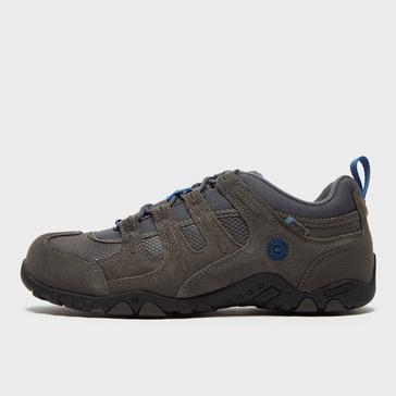 Grey|Grey Hi Tec Men's Quadra II Walking Shoe