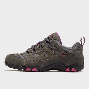 Brown Hi Tec Women's Quadra II Walking Shoe